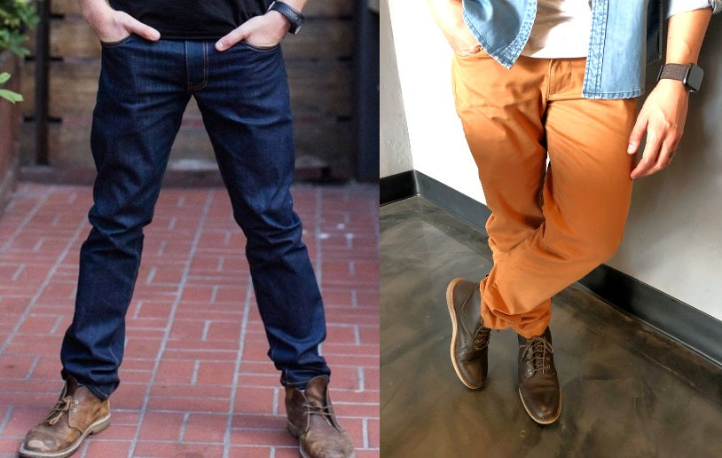 How to Break in / Care for Your Jeans & Chinos