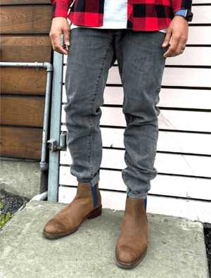 Load image into Gallery viewer, Dapper Boi Jeans Slim-Straight Stone Grey Jeans