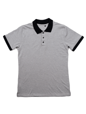 Dapper Boi Shirts Black French Terry & Grey/Black Pique Polo Pack