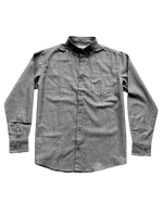 Dapper Boi Shirts PRE-ORDER CAMPAIGN: Dark Grey Chambray Long Sleeve Button-Up