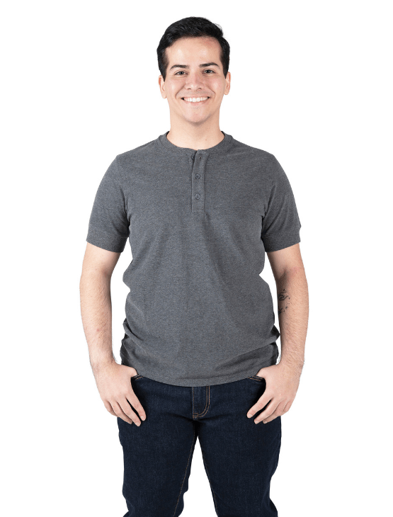 Dapper Boi Shirts Short Sleeve Henley 3-Pack