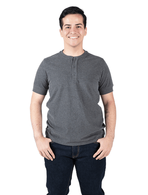 Load image into Gallery viewer, Dapper Boi Shirts Short Sleeve Henley 3-Pack