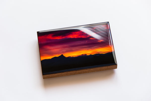 Mt Warning Sunset (200mm x 133mm)