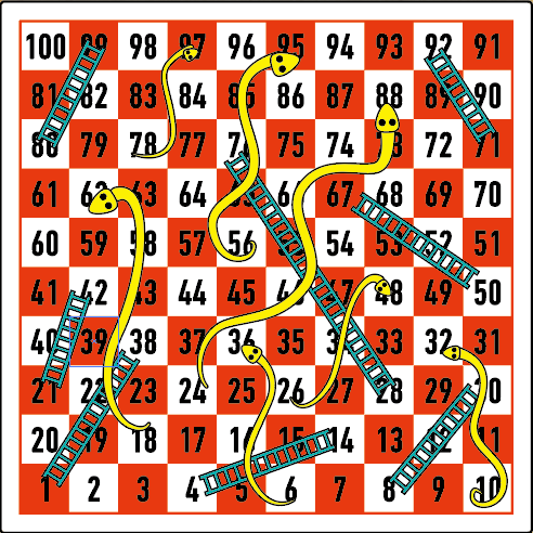 How to Play Snakes and Ladders – Yellow Mountain Imports
