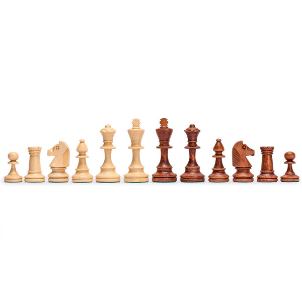 Senator European Wooden Chess, Checkers and Backgammon Set, 16 Inches