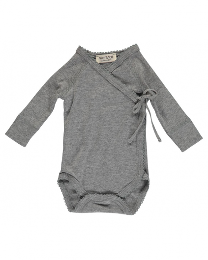 Body Mini LS Modal - Grey Melange