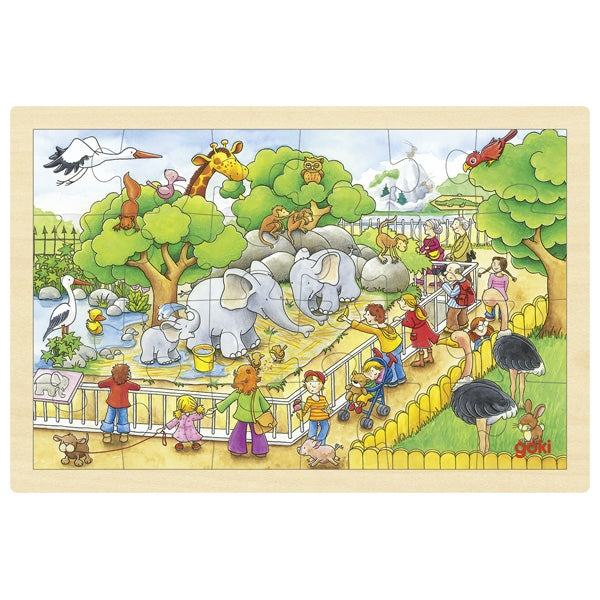 Puzzle (small) - The Zoo