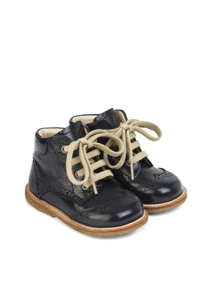 """First Steps"" lace-up boot"