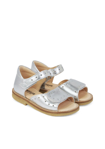 Sandal with open toe, Silver