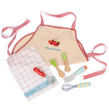 Apron & Utensil Set