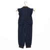 Jumpsuit - Dark Blue / No. 601