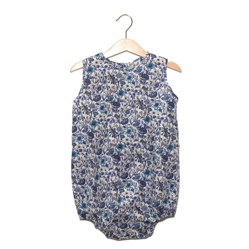 Bodysuit - Liberty Blue Flower / No. 812