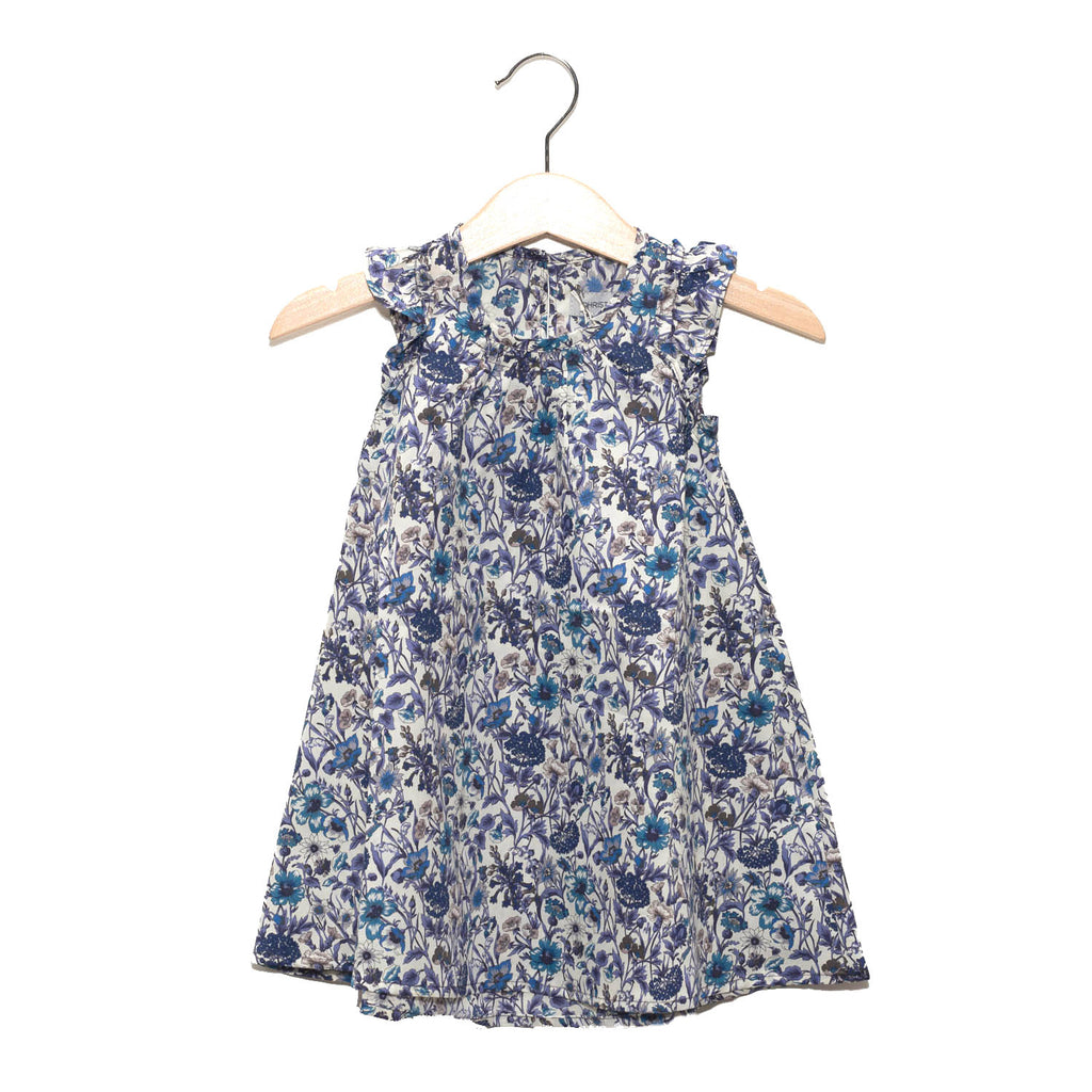 Dress - Liberty Blue Flower / No. 101