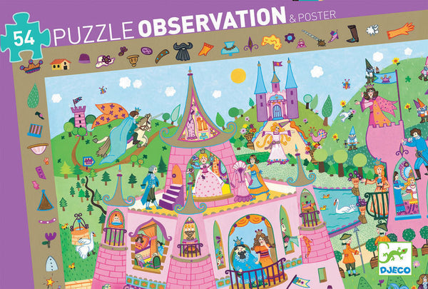 Observation Puzzle - PRINCESS