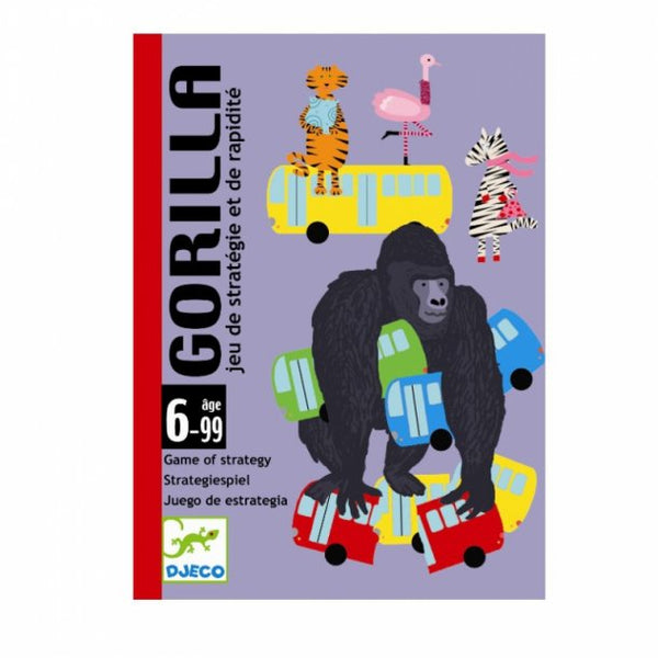Djeco - GORILLA playing card game