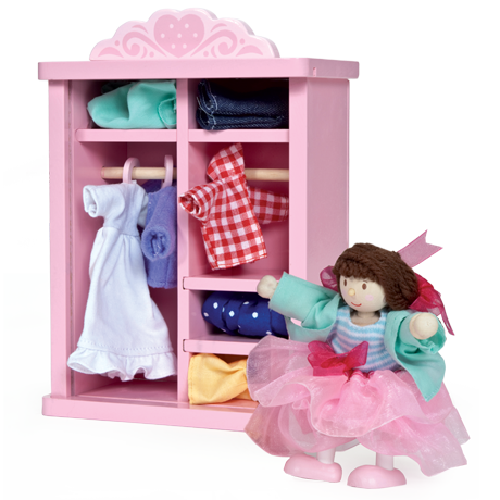 Dolly & Dressing Up Wardrobe