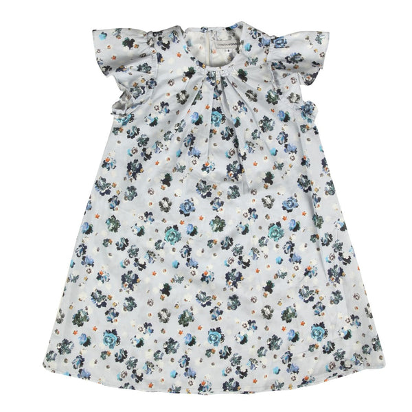 Dress / Light Blue Liberty Flowers