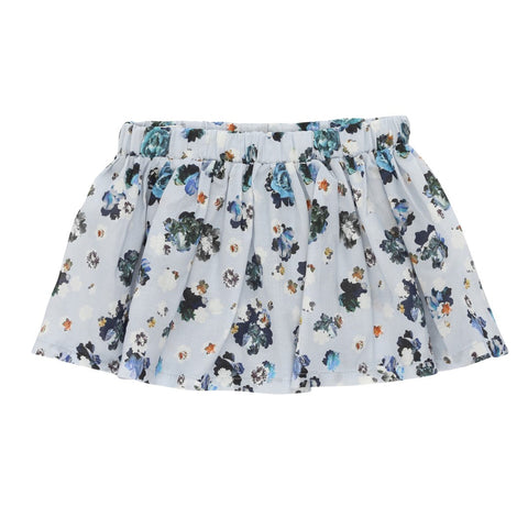 Skirt / Light Blue Liberty Flower