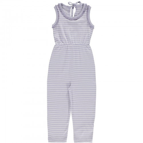 Lilac Ash/Thistle, Striped Suit, Organic