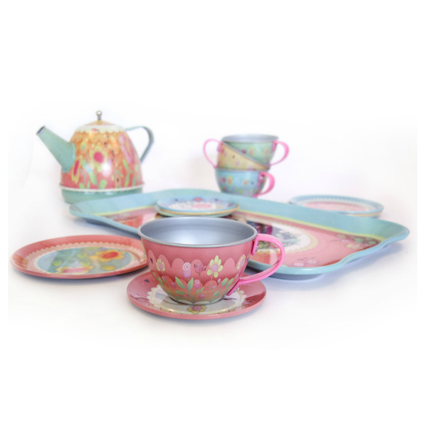Musical Metal Tea Set