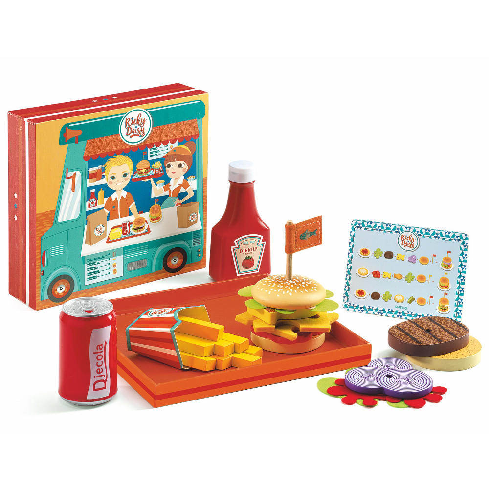 Ricky & Daisy Burger Set