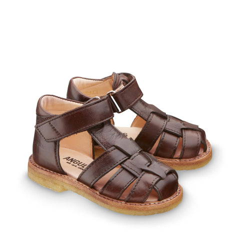 Fisherman Style Sandal, Brown
