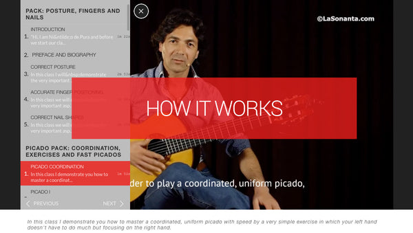 How to access your flamenco streaming video classes online