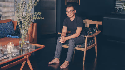 At Home with Our <i>Favourite Local Fabric Designers</i> — Mike Tay of Onlewo
