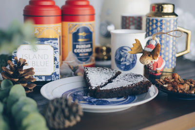 Recipe: Gather Around the Hearth for the Most Decadent Flourless Chocolate Cake