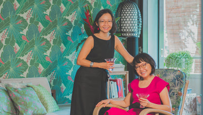 At Home with <i>Our Favourite Local Fabric Designers</i> - Santhi & Sari of Binary Style