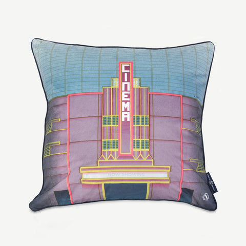 EMBRACE ME Art Deco Cushion The Cathay