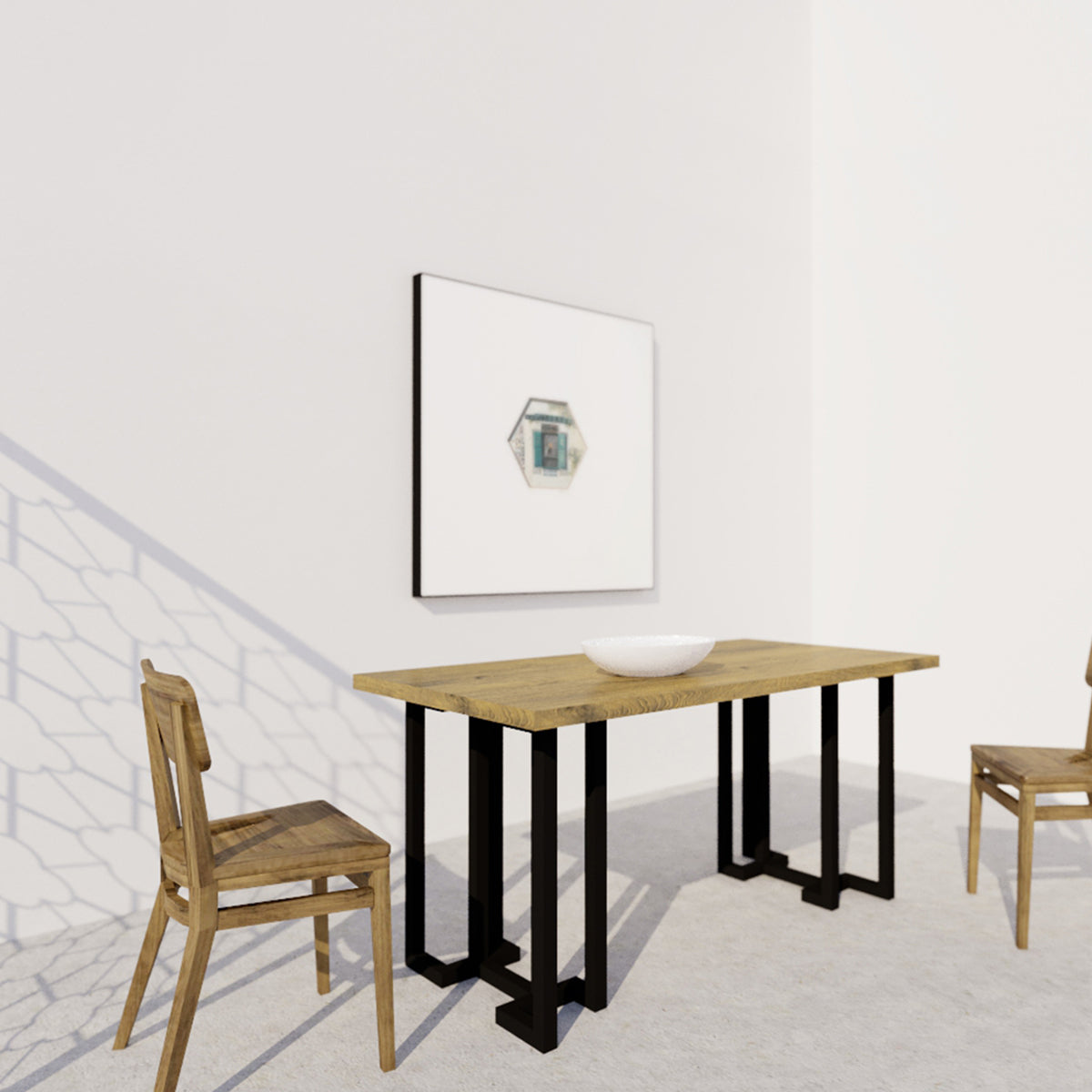 Yuan Loft Dining Table Rectangle