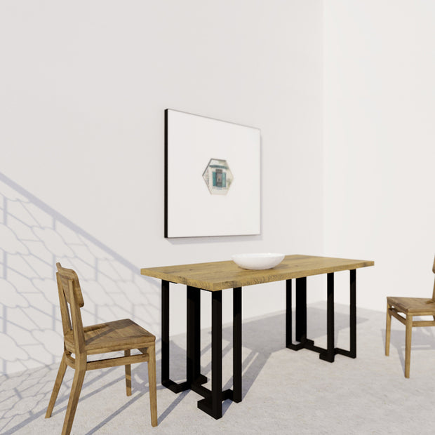 YUAN Loft Dining Table (Rectangle) - SCENE SHANG