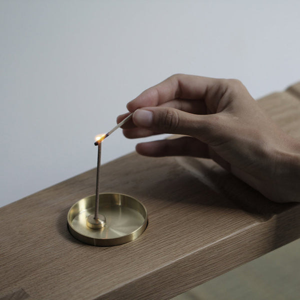 Brass Incense Stick Holder