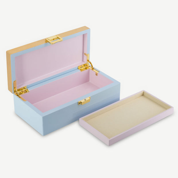 Lacquer Jewellery Box - Rose, Rose, I Love You - SCENE SHANG