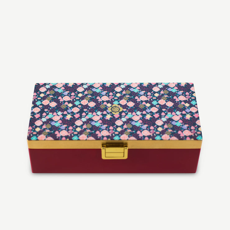 Lacquer Jewellery Box - Blossoming Abundance (Second Quality) - SCENE SHANG