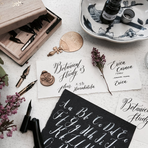 Botanical Study x Modern Calligraphy Workshop by Poptsie Paper Co.