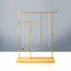 Brass ARCH GATE Hanger - Bamboo Base