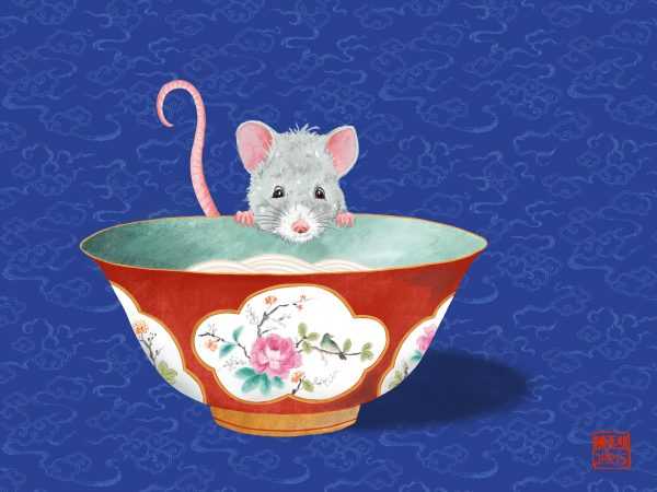LUCKY Collection - The Bowl Rat - SCENE SHANG