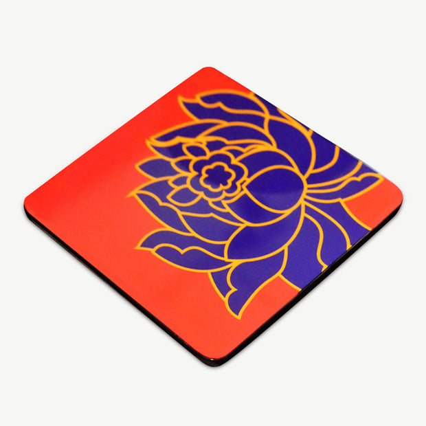 Padma Lacquer Coaster (set of 6) - SCENE SHANG
