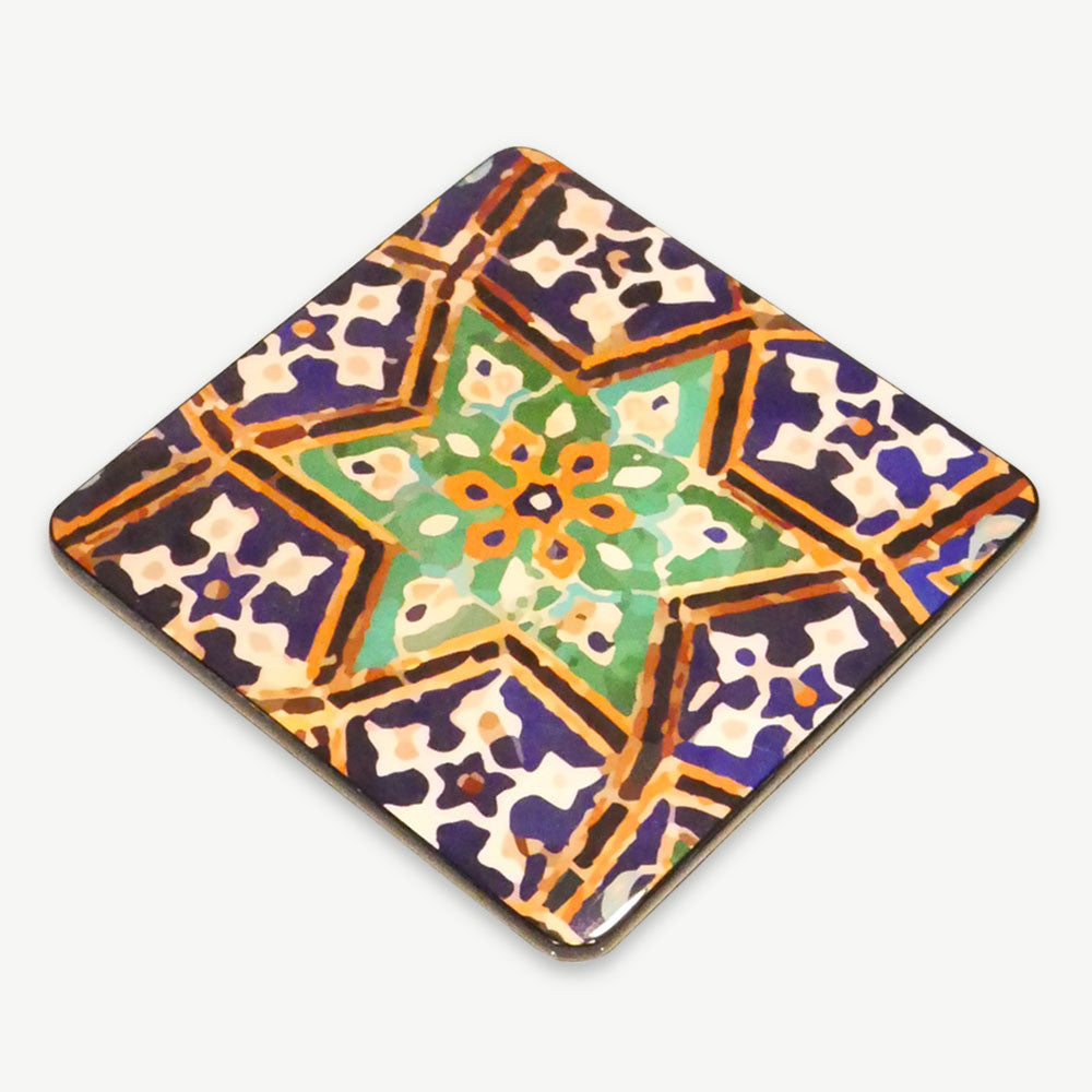 Lapis Lacquer Coaster (set of 6)