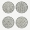 Concrete Coaster Set of 4
