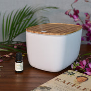 Eggshell Smart Diffuser with Complimentary Essential Oil