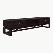 KIAN Old Elm Wood Console - Dark