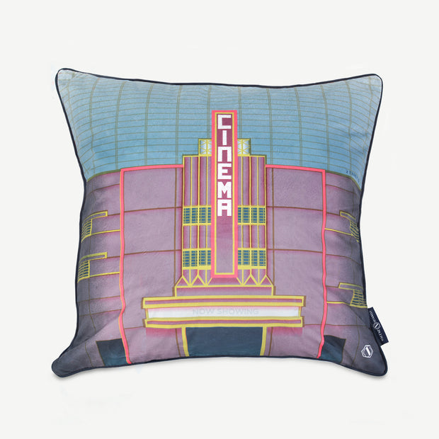 EMBRACE ME Cushion Cover  - The Cathay Building - SCENE SHANG