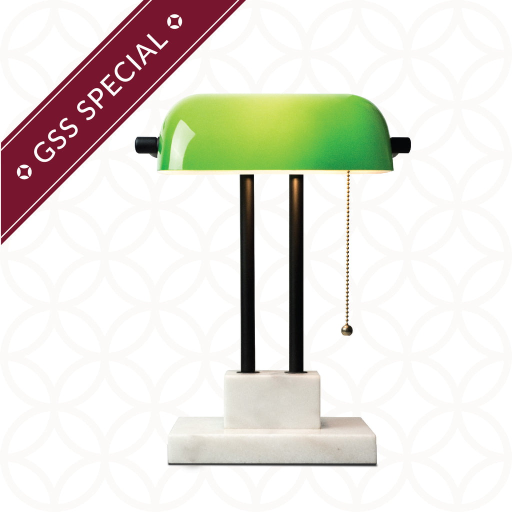 GSS Special GUIBIN Rewards: <br>900 Taels <br>$150 off THE BANKER Desk Lamps - SCENE SHANG