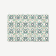 Jade Blossoms Linen Placemat Set of 4