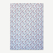 Love is a Warm Brew - Blue Tea Towel