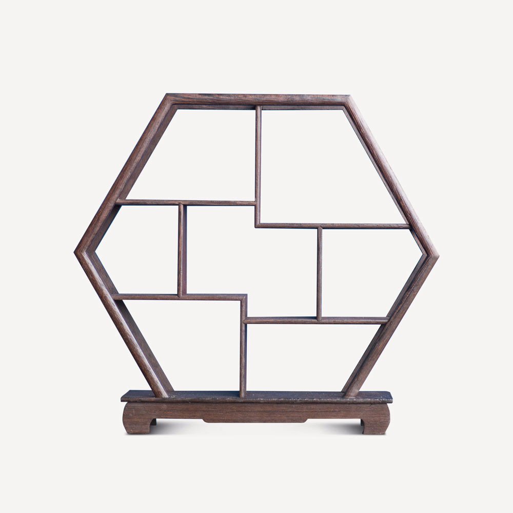 Curio Stand - Hexagon - SCENE SHANG