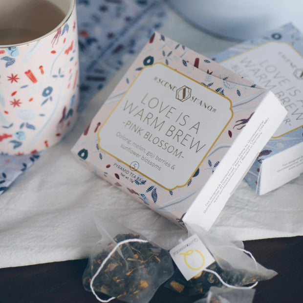 Quinteassential Tea - Love is a Warm Brew - Pink Blossom
